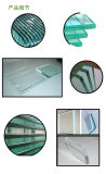 Flat / Bent Tempered Glass From 3-19mm with Polished Edges Holes Silk-Screen Printing