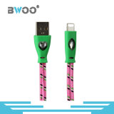 Factory Colorful Braided USB Cable with Light