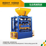Qt4-24 Small Manual Mobile Concrete Hollow Block Making Machine