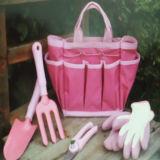 Lady's Elegant Pink Garden Tool Set (BL231)