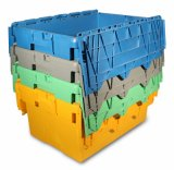 Plastic Moving Storage Box, Storage Container (PK64320)