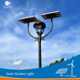 Manufacturer Ce/RoHS/FCC Single/Double Lamp Park Solar LED Garden Outdoor Lighting