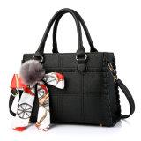 Fashion Colorful PU Leather Cheap Lady Tote Handbag (FTE-084)