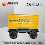 Trailer Type Mobile Rainproof 50kw Cummins Power Diesel Generator