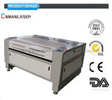 130W CO2 Laser Engraving System for Cloth, Textile, Wood, Plastic Engraving