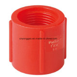PP Thread Fittings Coupling BSPT