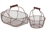 Metal Wire Hand Basket for Daily Use