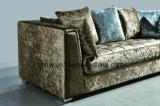 Modern Italian Living Room Furniture Hotel Reception Sofa 2 Seat