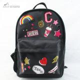 Girls Back to School Badge Print Backpack