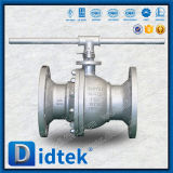 Didtek 150 Class Wcb Reduced Port Floating Ball Valve in Refinery