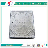 Square Hinged Composite Manhole Cover and Frame
