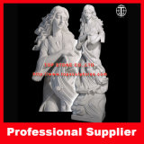 Lady with Pitcher/Marble Statue / Marble Stone Carving / Marble Sculptures