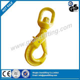 G80 Forged Alloy Steel Swivel Selflocking Hook