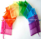 Customized Organza Drawstring Gift Pouch (CO-R2554)