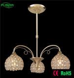 New Design 3 Lamps Crystal Chandelier Pendant Lighting for Hotel Decotive