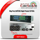 High Performance 64pon Big Fan High Power 3u Multi-Ports Optical Amplifier E/ Ydfa