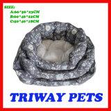 High Quaulity Cheap Snuggle Dog Cat Pet Beds (WY161074-4A/C)