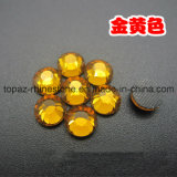 DMC Crystal Hotfix Crystal Rhinestone for Shoes (SS10 Topaz/3A grade)