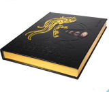 Leather Bound Hardback Book Printing Service (jhy-047)