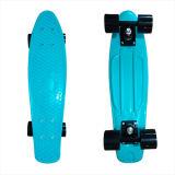 22inch PP Mini Skateboard Cruiser Complete Skateboards Banana Skateboard Plain Lain Blue-18
