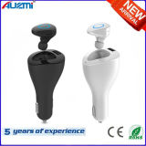 Mult-Function 2 in 1 Car Charger with Bluetooth Headset