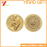 Custom High Quality Metal Gold Challenge Coin (YB-SM-20)