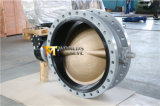 Dn750 Double Flanged Butterfly Valve with C95400 Disc (CBF02-TA01)