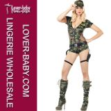 Sexy Cosplay Adult Army Girls Costume (L1202)