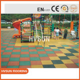 Best Quality Cheap Non-Slip Rubber Floor Ceramic Tiles for Children Playground Garden Park Walkway