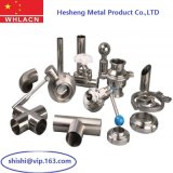 Stainless Steel Precision Casting Sanitatiory Pipe Valve (316)