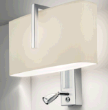 Hot-Sale Modern Aluminum Fabric Shade LED Wall Lamp