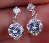 Ms. Elegant Luxury Droplets Zircon Earrings