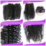 Wholesale Cheap Hot Sale 7A Grade Chemical Free Unprocessed Filipino Virgin Remy Hair Extension (w-110)