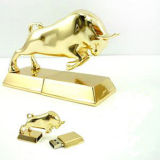 Metal Taurus Flash USB Memory Stick