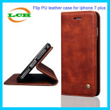 Magnetic Closure Retro Leather Flip Phone Case for iPhone 7/6/6s Plus