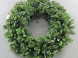 120cm Pre-Lit Christmas Wreath