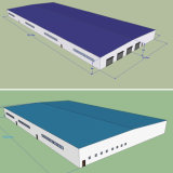 Steel Structure Warehouse/Workshop with Sandwich Panel