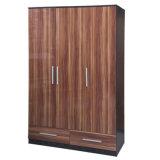 2017 Bedroom Furniture Customized Wooden Wardrobe