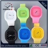Unisex Jelly Gel Silicone Band Quartz Wrist Watch (DC-347)