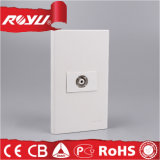 RJ45 Southeat Asia TV Female Satellite Wall Socket