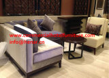 Wooden Lounge Chair Modern Booth Sofa for Restaurant Dining Hall