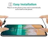 3D Full Cover & Full Glue Mobile Phone Tempered Glass Screen Protector 0.3mm Electrostatic Adsorption CNC Carving for iPhone X 8 7 6 Plus Pad iPad Samsung