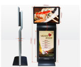 42-Inch Double Screens Advertising Player, LCD Panel Digital Display, Digital Signage
