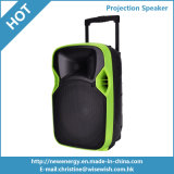 12 Inches Plastic Multimedia Karaoke Wireless Speaker Box with Projector