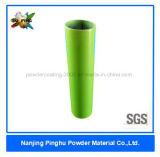 Green Metallic Powder Coating with Good Decorative Property