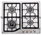 High Quality Built-in Gas Hob with Aluminum Burners Jzs54208
