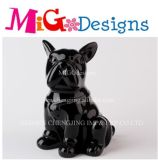 Ceramic Chinese Supply Dog Pet Shape Money Box