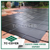 Plastic Winter Safety Mesh Cover-Grey Color