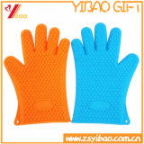 High Quality Customizable Heat Resistant Oven Mitts Silicone Rubber Gloves