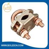 Earth Bonds Mechanical Clamps Copper Alloy U Bolt Rod Clamp
